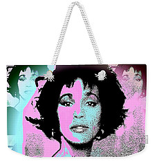 Whitney Houston Sing For Me Again Weekender Tote Bag