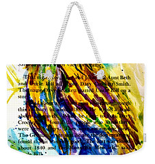 Who Is That Weekender Tote Bag