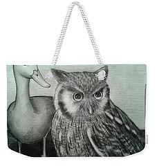 Who Quack Weekender Tote Bag