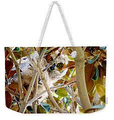 Whooo Are You? Weekender Tote Bag
