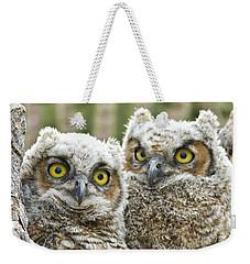 Who's There? Weekender Tote Bag by Bryan Keil