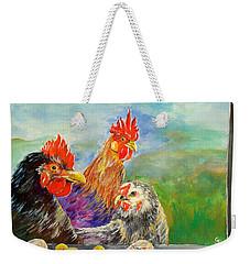 Whose Egg Isthat Weekender Tote Bag