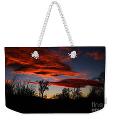 Wicked Skies Weekender Tote Bag by Janice Westerberg