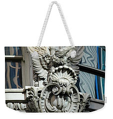 Weekender Tote Bag featuring the photograph Wicked Window by Christiane Hellner-OBrien