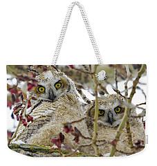 Wide-eyed Wonders Weekender Tote Bag