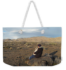 Wide Open Spaces Weekender Tote Bag