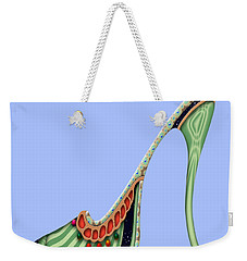 Wiggle Blue Weekender Tote Bag