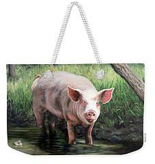 Wilbur In His Woods Weekender Tote Bag
