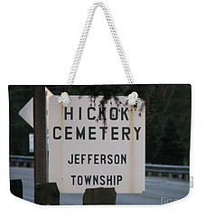 Weekender Tote Bag featuring the photograph Wild Bill Hickok by Michael Krek