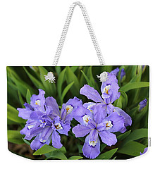 Wild Iris  Weekender Tote Bag by William Tanneberger