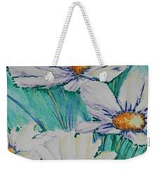 Wild Daisys Two Weekender Tote Bag by Chrisann Ellis