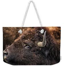 Wild Eye - Bison - Yellowstone Weekender Tote Bag