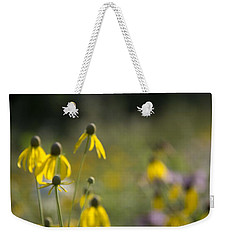 Weekender Tote Bag featuring the photograph Wild Flowers by Daniel Sheldon