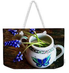 Wild Flowers In Sugar Bowl Weekender Tote Bag