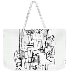 Wild Horse Day  Weekender Tote Bag by Mary Armstrong