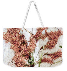 Wild Indian Rice In Autumn #2 Weekender Tote Bag