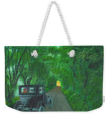 Wild Irish Roads Weekender Tote Bag