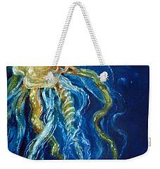 Wild Jellyfish Reflection Weekender Tote Bag