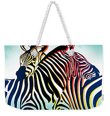 Wild Life  Weekender Tote Bag by Mark Ashkenazi