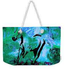 Wild Midnight Weekender Tote Bag