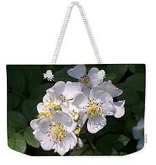 Wild Rose Weekender Tote Bag by William Tanneberger