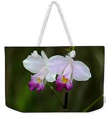 Wild Orchid Weekender Tote Bag by Pamela Walton