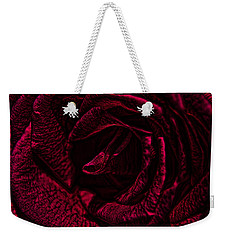 Wild Rose Weekender Tote Bag by Kathy Churchman