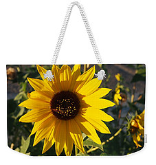 Wild Sunflower Weekender Tote Bag by Nadja Rider