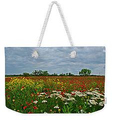 Wild Texas Weekender Tote Bag by Lynn Bauer