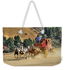 Wild West Ride 2 Weekender Tote Bag by Donna Kennedy