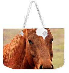 Wildfire - Equine Portrait Weekender Tote Bag