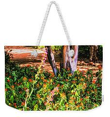 Wildflower Path Through The Woods Weekender Tote Bag