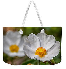 Wildflower Poppin Weekender Tote Bag