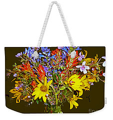 Wildflower Reminiscences Weekender Tote Bag