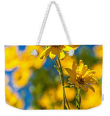 Wildflowers Standing Out Weekender Tote Bag