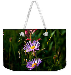 Weekender Tote Bag featuring the photograph Wildflowers by Steven Reed