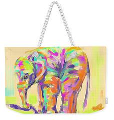 Wildlife Baby Elephant Weekender Tote Bag