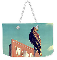 Wildlife Drive Greeter Weekender Tote Bag