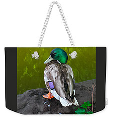 Wildlife In Central Park Weekender Tote Bag