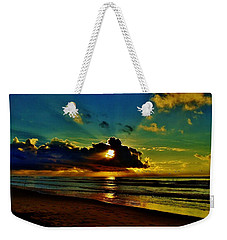 Wildwood Sunrise Weekender Tote Bag by Ed Sweeney