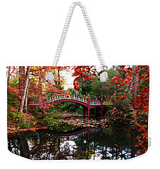 William And Mary College  Crim Dell Bridge Weekender Tote Bag