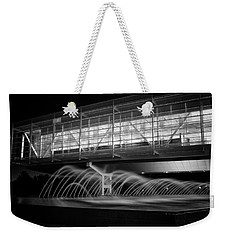 Weekender Tote Bag featuring the photograph William J. Clinton Presidential Library by Ben Shields