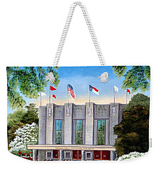 William Neal Reynolds Coliseum Weekender Tote Bag