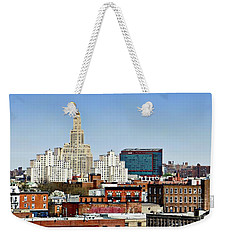 Williamsburg Savings Bank In Downtown Brooklyn Ny Weekender Tote Bag