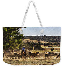 Williamson Valley Roundup 6 Weekender Tote Bag by Priscilla Burgers