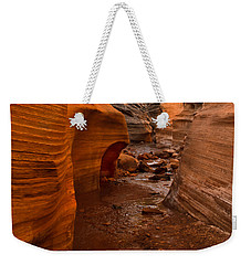 Willis Creek Slot Canyon Weekender Tote Bag by Robert Bales