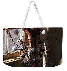 Willow And Cotton Weekender Tote Bag by Kathryn Meyer