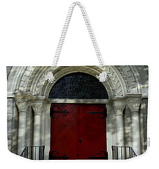 Weekender Tote Bag featuring the photograph Winchester Church by Joseph Skompski