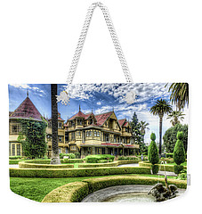 Winchester Mystery House Weekender Tote Bag by Jim Thompson