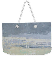 Wind And Rain On The Bay Weekender Tote Bag